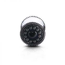 """Oh, Oh! Oreo"" Charm Sandwich Biscuit en Argent Sterling"